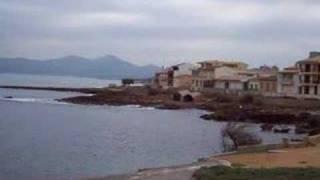 Mallorca Beach Can Picafort in November 2007