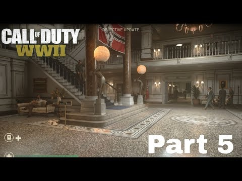 CALL OF DUTY WW2 Walkthrough Gameplay Part 5 - Liberation - Campaign Mission 5