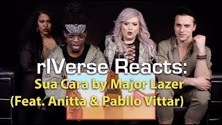 rIVerse Reacts Sua Cara by Major Lazer (Feat. Anitta & Pabllo Vittar) - MV Reaction