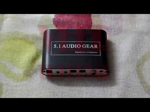 How to convert digital (Toslink) audio to analog (3.5 MM Jack)