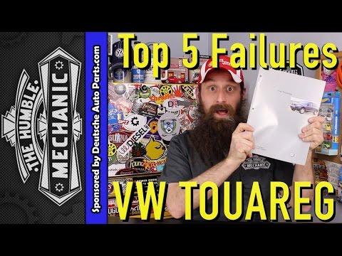 Top 5 Failures of the Volkswagen Touareg