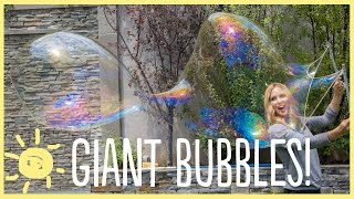 DIY | How To Make Giant Bubbles!