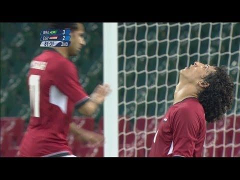 Brazil 32 Egypt  Men's Football Group C  London 2012 Olympics