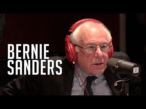 Bernie Sanders in Studio w/ Ebro in the Morning!!!