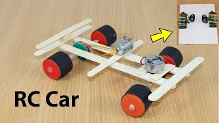 "✔""Remote Controlled Car""✔How to Make a RC Car at Home✔Easy & Simple"