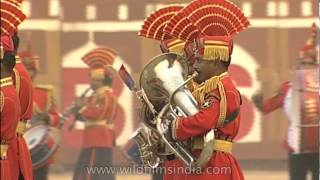Video Foot march with the tunes of music by the BSP group download MP3, 3GP, MP4, WEBM, AVI, FLV Desember 2017