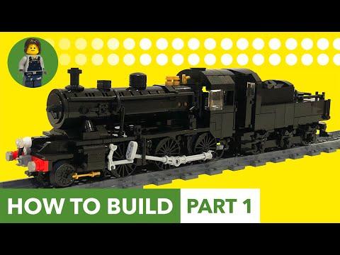 How to Build: LEGO LMS Ivatt Class 2 - Train MOC