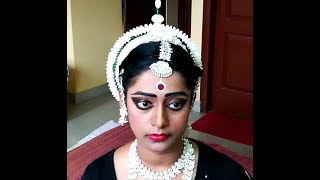 Odissi Hairdo, Makeup & Costume Details | Complete Odissi Getup