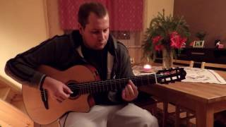Video O Holy Night (fingerstyle guitar cover) download MP3, 3GP, MP4, WEBM, AVI, FLV Mei 2018