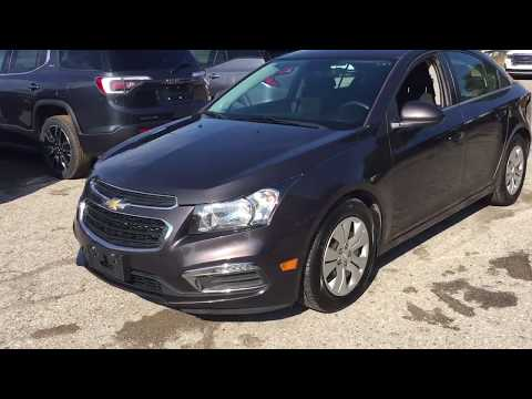 Pre Owned 2016 Chevrolet Cruze Limited LT B12589