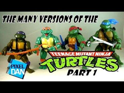 The Many Versions Of The Teenage Mutant Ninja Turtles Part 1