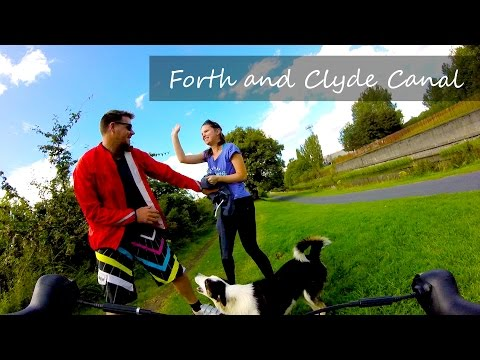 Forth and Clyde Canal Bike Ride