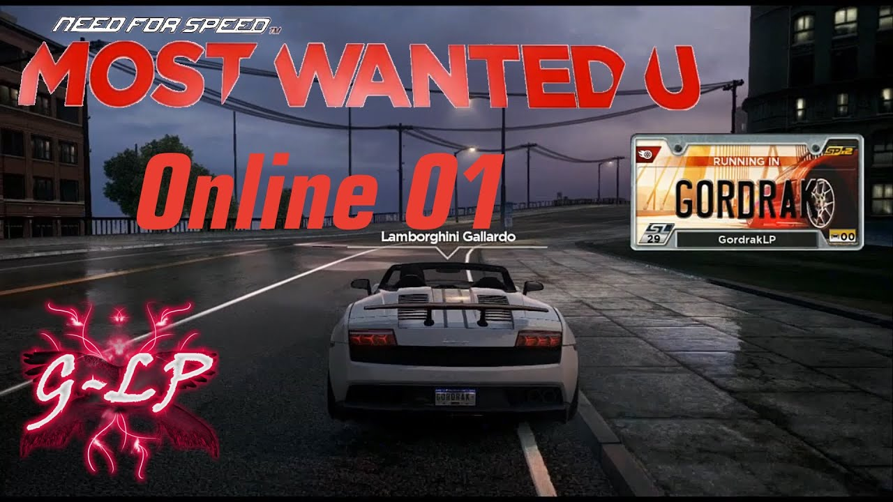 Let's Play Need For Speed Most Wanted U (Wii U): Multiplayer Online #01  [Deutsch/HD]