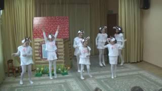 """Музыкальная сказка """"Волк и семеро козлят на новый лад"""" 27.02.17"""