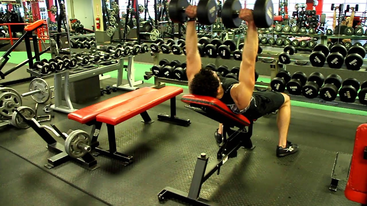 How to Do Dumbbell Bench Press & Incline Dumbbell Press