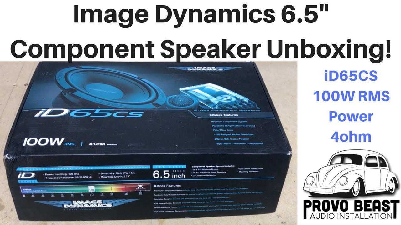 Image Dynamics ID65CS 6.5 100W RMS ID Series Component Speakers System