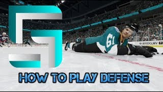 How to Suck Less at NHL 18: How To Play Defense