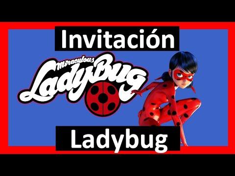Video Invitación Ladybug Whatsapp Digital