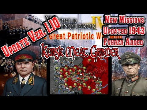 Great Patriotic War Mod Update Ver 1.10 Battle Of Kursk 1943