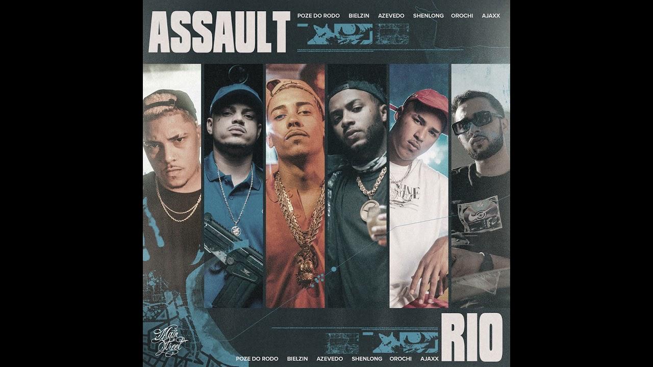 """Assault """"Rio"""" - Poze do Rodo, Orochi, Azevedo, Shenlong e Bielzin - Mainstreet Records"""