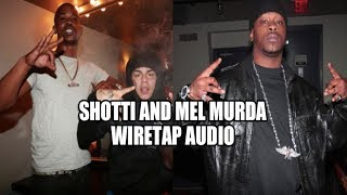 Shotti Heard Saying He'll Shoot Tekashi in Wiretap with Mel Murda