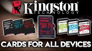 KINGSTON TECHNOLOGY'S CANVAS MICRO SD CARDS - A Card For Every Device