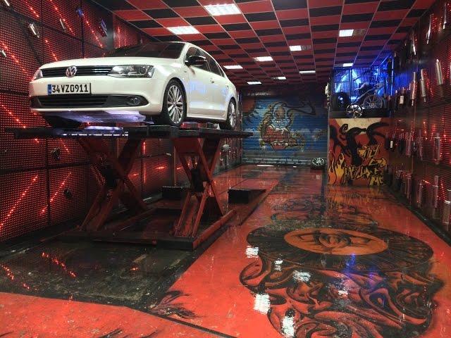 Volkswagen Jetta 1.6 Dizel Egzoz Sesi