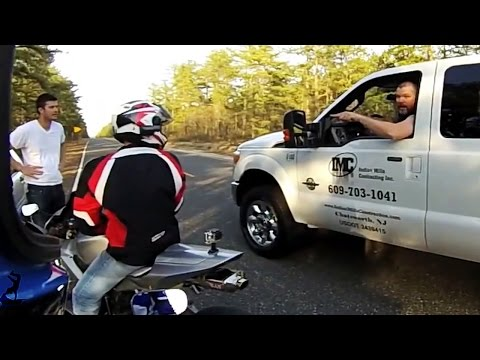 Angry People Vs Dirtbikes, ATV's & Roadbikes