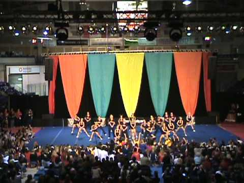 Queens cheerleading 2007 - National competition
