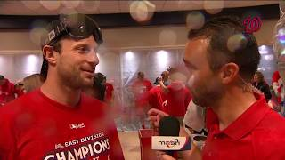 Max Scherzer speaks after clinching NL East title