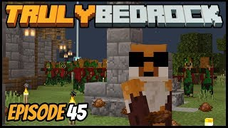 Zombiefox Apocalypse! - Truly Bedrock (Minecraft Survival Let's Play) Episode 45