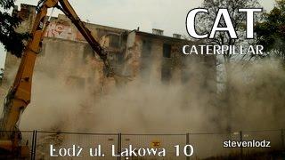 Demolition - Wyburzanie - การรื้อถอน - Łódź ul. Łąkowa 20/22