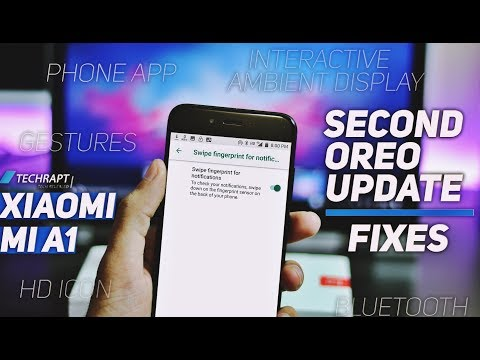 Xiaomi Mi A1 | Second Android Oreo Stable Update ( January s.patch) | Features and Fixes
