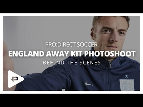 Nike England Away Kit Photoshoot: Behind The Scenes