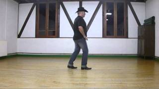Country dance The Old Trail (Demo & tutorial)