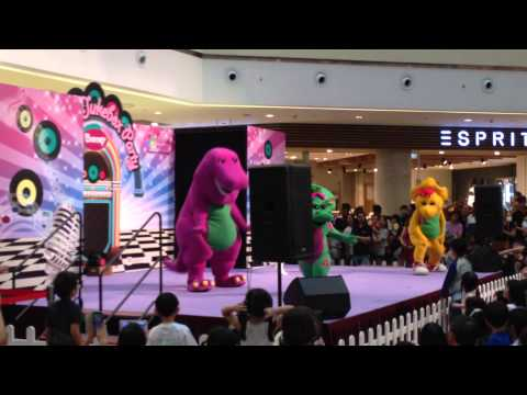 Barney and Friends Live Show at City Square Mall in ...