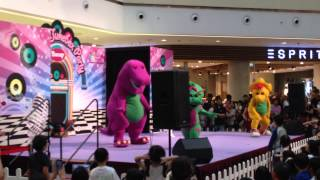Barney and Friends Live Show at City Square Mall in Singapore! (Part 1)