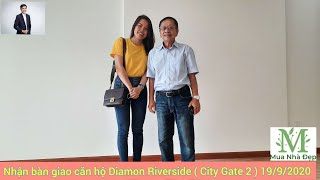 Nhận bàn giao Căn hộ Diamon Riverside ( City Gate 2 ) cho thuê giá 8tr/tháng