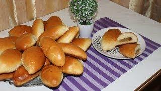 Дрожжевые пирожки на манке, по рецепту  Аллы Ковальчук. Очень пышные и вкусные
