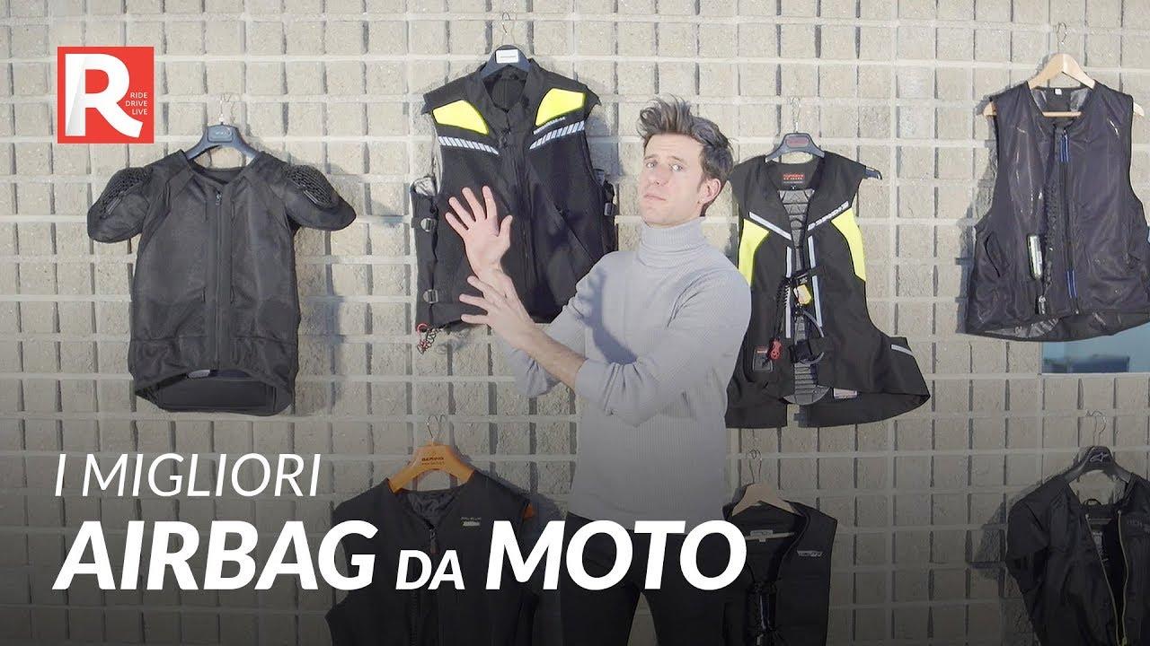 I migliori airbag da moto La guida definitiva a tutti i modelli