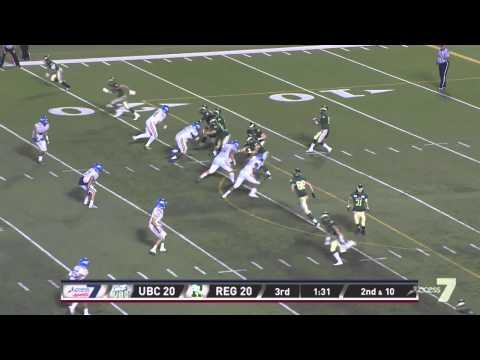Highlight Pack: 9/5/2014 (UBC 23, Rams 33)