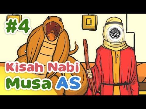 Kisah Nabi Musa AS Melawan Penyihir Firaun - Kartun Anak Muslim Indonesia