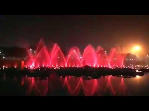 laser show at Patna Sahib