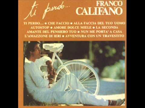 Franco Califano - Avventura con un travestito