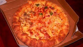 Domino's Pizza(Mochi u0026 Cheddar Cheese Crust),Kaohsiung,Taiwan 達美樂披薩高雄左營店(麻吉滋心)