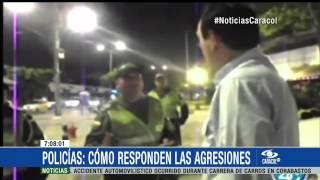 ¿Cómo soporta un policía insultos y agresiones tipo Nicolás Gaviria? - 03 de Marzo de 2015