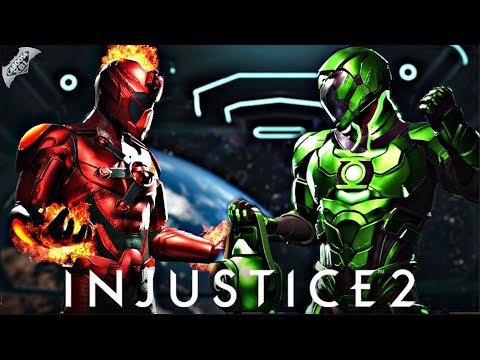 Thumbnail: Injustice 2 Online - AWESOME NEW METAL SHADERS!