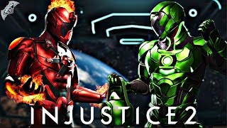 Injustice 2 Online - AWESOME NEW METAL SHADERS!