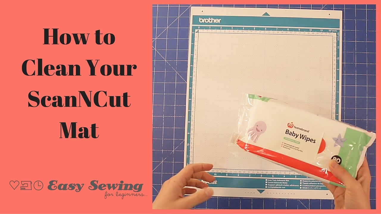 How To Clean Your Scanncut Mat And Regain The Tack