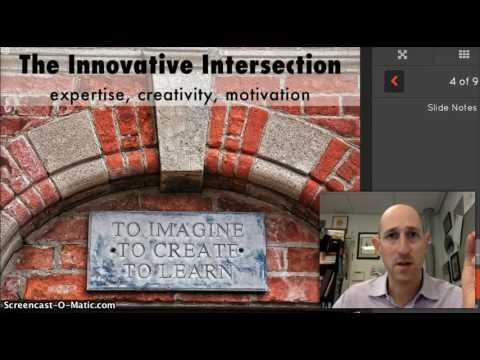 Innovative Teaching and Learning Big Ideas - David Panush, Edmund Burke School